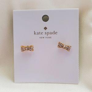 DELICATE Kate Spade Bow Earrings